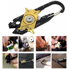20 in 1 Pocket Portable Gadget Mini True Utility Multi Tool Keychain Key Ring