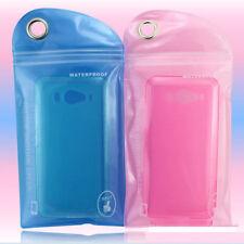 Hot !5PCS Impermeable Bolsa Funda De Plástico Protector Teléfono Móvil En Playa