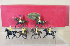 DORSET SOLDIERS 910A 910B WAR in INDIA 1st SKINNERS HORSE LANCERS CHARGING nc
