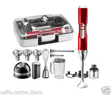 5KHB3581 Mixer immersione Cordless KitchenAid Professionale + Valigia Accessori