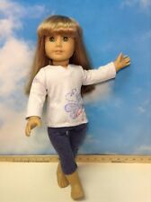"American Girl 18"" DOLL Truly Me Light BLONDE Hair Lt Skin Green Eyes(6)"