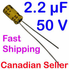 5pcs 2.2uF 50V 4x7mm 85C ILLINOIS RSS For RADIO RECEIVER AMPLIFIER AUDIO VIDEO