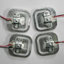 4pcs Body Load Cell Weigh Sensor Resistance strain Half-bridge sensors 50kg
