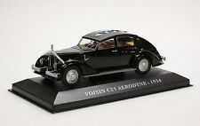 IXO 1:43 1934 Voisin C25 Aerodyne, black