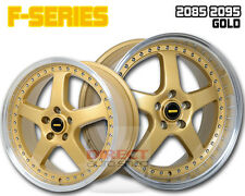 4x FR GOLD 20 inch Staggered Alloy Wheel HOLDEN COMMODORE VL VK VT VY VZ VE VF