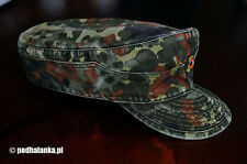 German Army Flectarn Camouflage Cap Hat - size 7 1/4 - 58 cm