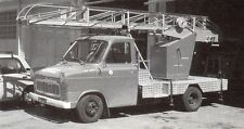 04 DIGNE CAMION POMPIERS FORD TRANSIT FT 175 IMAGE 1987 FIRE TRUCK PRINT