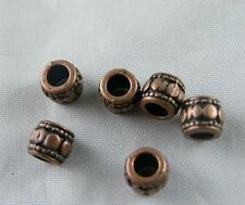 150pcs Copper Color Bail Style Bead Spacers Jewelry DIY 7x6mm 8715-2