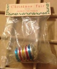 Vintage Glass Christmas Ornament Hand Crafted In West Germany NOS