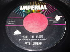 Fats Domino: Stop The Clock / Did You See A Dream Walking 45