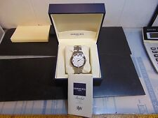 Raymond Weil Parsifal AUTOMATIC Men's Watch White Dial (Very Rare And Unique)