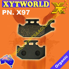X97 Brake pads BENELLI SUZUKI YAMAHA CAN AM CANNONDALE