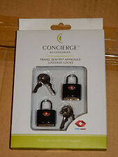 BRAND NEW!! Travel Sentry Approved Luggage Locks! (Set of 2)