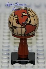 NEW Lego Minifig WORLD GLOBE - Minifigure Display Sphere - Pirate Kingdoms 10224