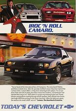 1986 CAMARO POSTER | 24 x 36 INCH | AD | AWESOME PRINT! |