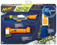 Nerf N-Strike Elite XD Modulus Range Kit - Scope, Barrel Extension, Bipod
