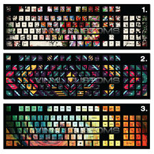 Mechanical Keyboard Vinyl Decal Skin Kit Cherry MX Keycap / Key cap - a06