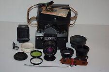 Kiev-60 TTL Soviet Medium Format Camera. 1985. Volna-3 Lens. Service. No.8710433
