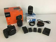 Sony Alpha SLT-A58 20.4 MP Digital SLR Camera - Black (Kit)