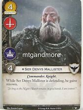 A Game of Thrones 2.0 LCG - 1x #007 Ser Denys Mallister - Watchers on the Wall