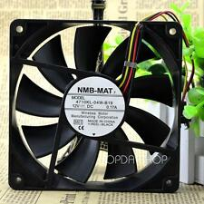 NMB 4710KL-04W-B19 Mute Chassis cooling fan DC12V 0.17A 120*120*25mm 3pin
