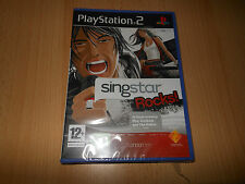 SingStar Rocks! para PS2 Nuevo Sellado