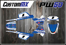 PW50 GRAPHIC KIT 1981-2012 PEEWEE PW 50 GRAPHICS DECAL KIT STICKER MX STICKERS