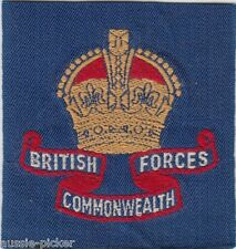 Australian Army British Commonwealth Forces Japan Korea Patch