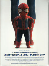 OBJET PROMO THE AMAZING SPIDERMAN BABY & ME 2 / PUBLICITE EVIAN