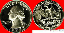 1972 S Washington Quarter Gem Proof No Reserve