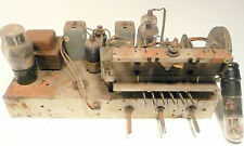 vintage * WARD'S AIRLINE 62-600 Radio: UNTESTED CHASSIS w/ FIVE TUBES