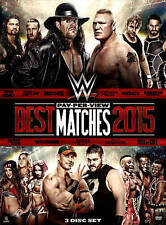 WWE WWF ECW: BEST PAY-PER-VIEW MATCHES 2015 [DVD 2015 3Disc Set BRAND NEW SEALED