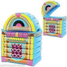 50's soda shop INFLATABLE JUKEBOX COOLER Party Decoration GREASE Sock Hop
