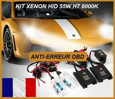 Kit Conversion Xénon Ampoules Canbus ballast 8000K H7 55W HID Opel, Ford