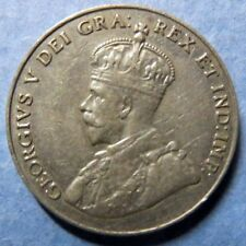 *Vintage 1930  CANADA  5 CENTS COIN, Extra Fine Circulated KING GEORGE V COIN
