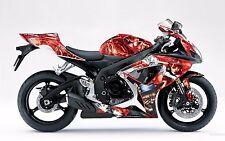 AMR Racing Graphic Kit Wrap Part Suzuki GSXR 600/750 Street Bike 06-07 HATTER WR