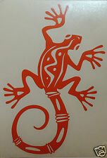 Gecko Lizard logo Stickers/Decals windsurfing/kitesurfing/surfing use