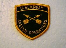 U.S. ARMY SPECIAL OPERATIONS CORPS BRANCH OF SERVICE FULL COLOR PATCH NEW:K9