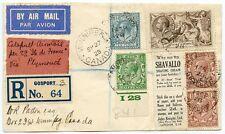 Rare 1928 ile de france couverture au Canada avec BW 2/6 Seahorse