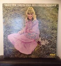 SKEETER DAVIS - The Hillbilly Singer - 1973 Vinyl LP - RCA LSA3151