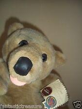 """RARE VINTAGE DON JAMES PLUSH DOLL FIGURE  """"BARNABY BEAR""""  PETTAGREE COLLECTIBLES"""