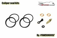 Suzuki RG 125 Gamma 86-90 front brake caliper seal repair kit 1986 1987 1988