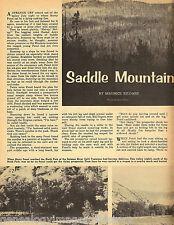 Idaho Saddle Mountain'w Lost Mine + genealogy