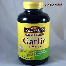Nature Made Garlic Complex Vitamin B6, Vitamin B12//Folic Acid 300 EntericTablet