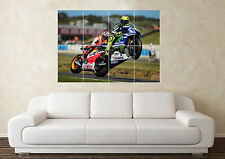 Grand valentino rossi 2 superbike moto racing wall poster art photo imprimé