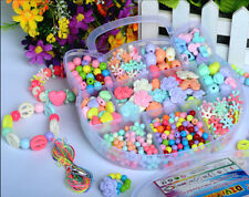 420pcs Mix Color & Shape Jewelry Beads Set For Kids Crafts DIY in Cat-shaped box