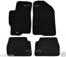 FIT FOR 03-08 MAZDA6 MAZDA 6 BLACK NYLON CARPET FLOOR MATS 4 PIECES