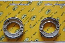 FRONT REAR BRAKE SHOES fits YAMAHA QT MJ 50, 79-92 QT50 80-93 MJ50 Towny