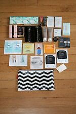 LOT OF 104 SEPHORA SAMPLES! BENEFIT FRESH AVEDA CLINIQUE BUXOM CAUDALIE ORIGINS