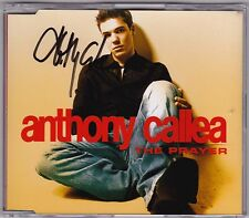 Anthony Callea - The Prayer - CD (Signed 2 x Track)